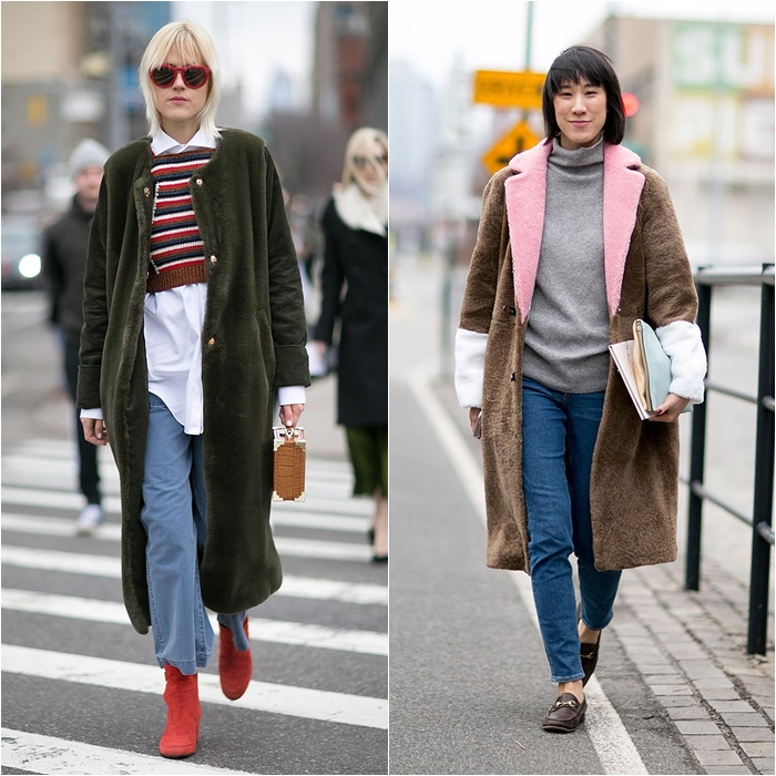 How to Wear Jeans with a Coat: Street Style picture 10