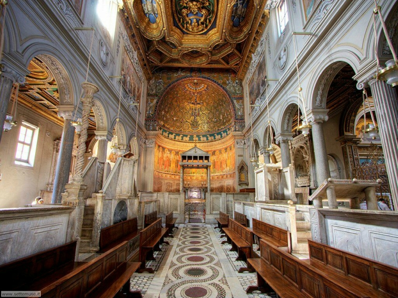Самые красивые церкви Рима. Базилика Сан-Клементе