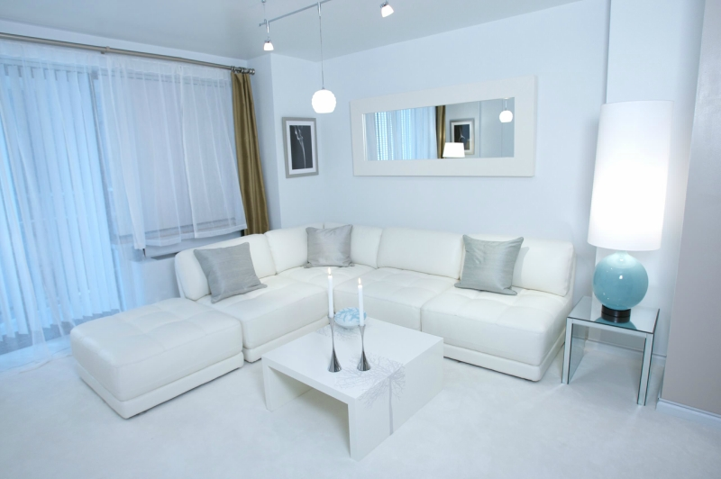 Дизайн интерьера в светлых оттенках фото 10