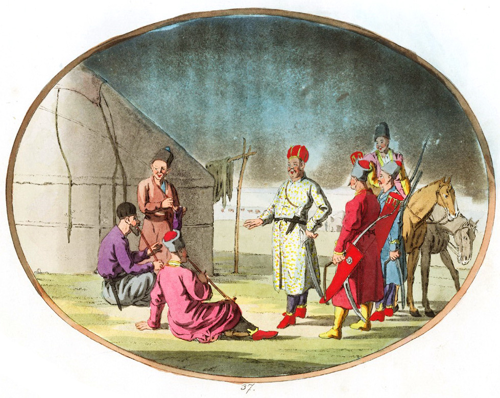 37. Туркмены / Truchmener oder Turkmannen