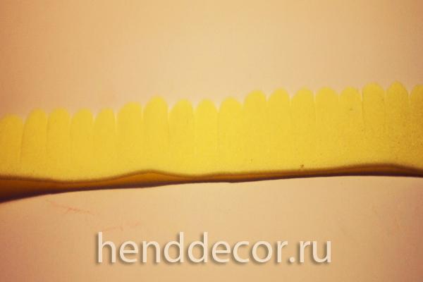 Ободок Солнечная гербера