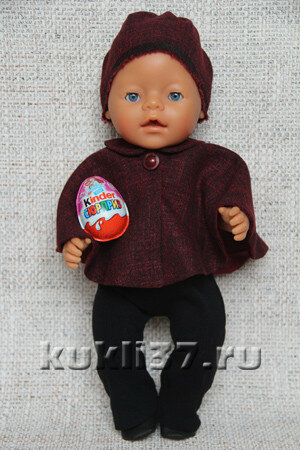 накидка для куклы Baby Born