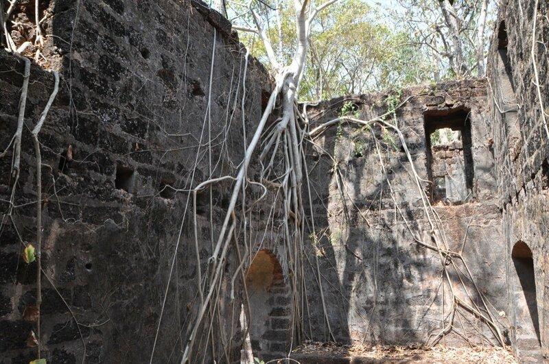 Реди форт или Yashwantgad Fort
