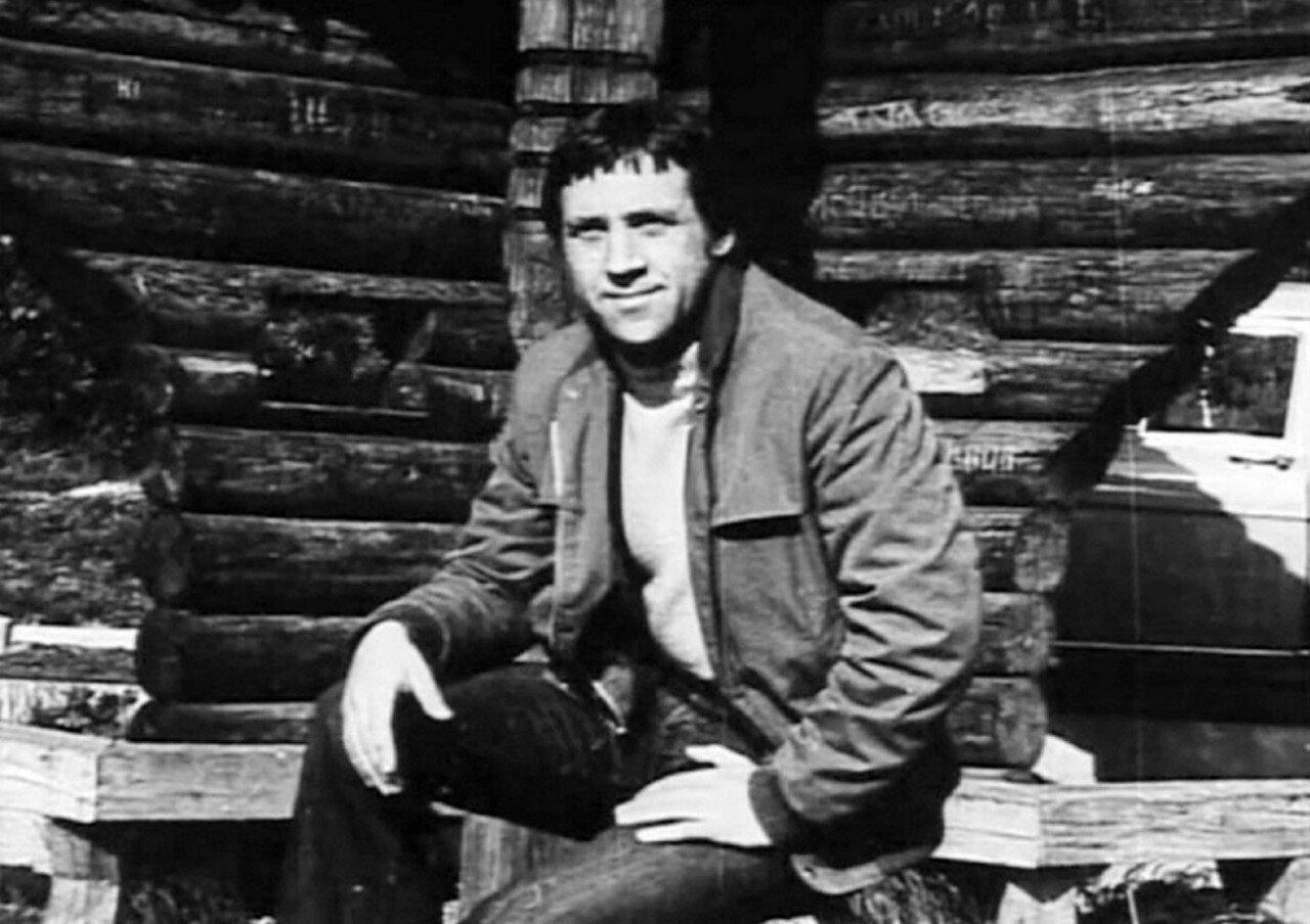 44. Владимир Высоцкий в Хомолхо. Фото 17 июня 1976 года