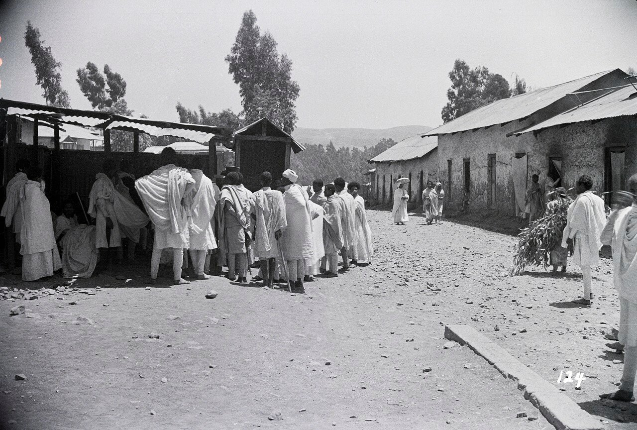 Дыре-Дауа, последний эфиопский город на железнодорожной линии Абиссиния - французский Сомалиленд