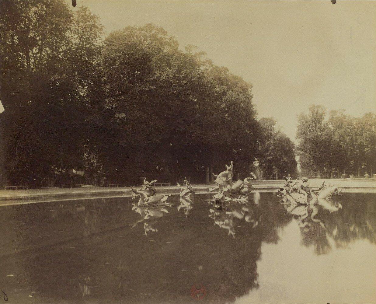 Парк Большого Трианона. Бассейн Дракона