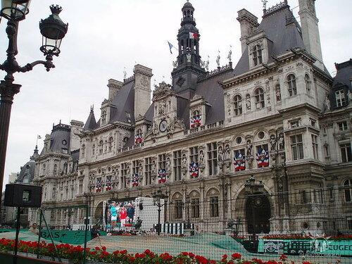 Париж. Мэрия города