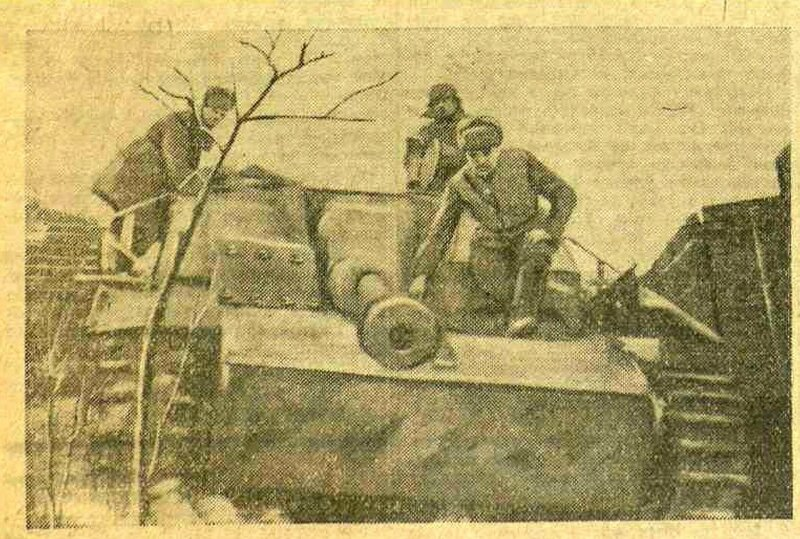«Красная звезда», 26 января 1944 года, немецкие танки, немецкие танки второй мировой, танки ВОВ