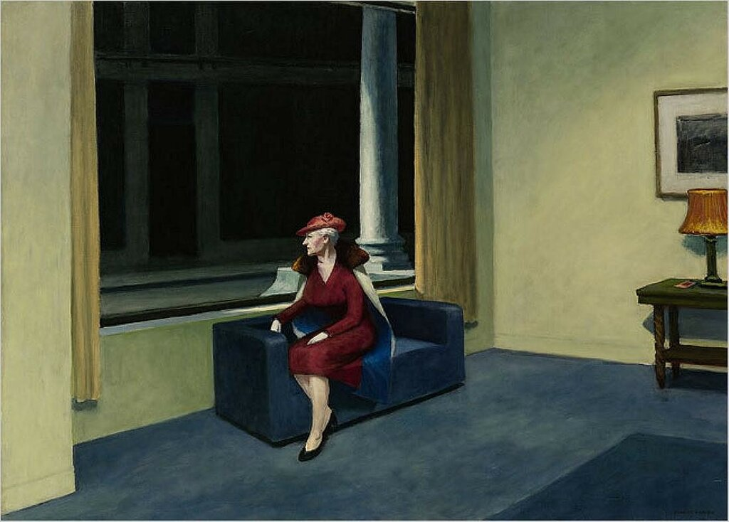 "Hopper's ""Hotel Window"" 1956"