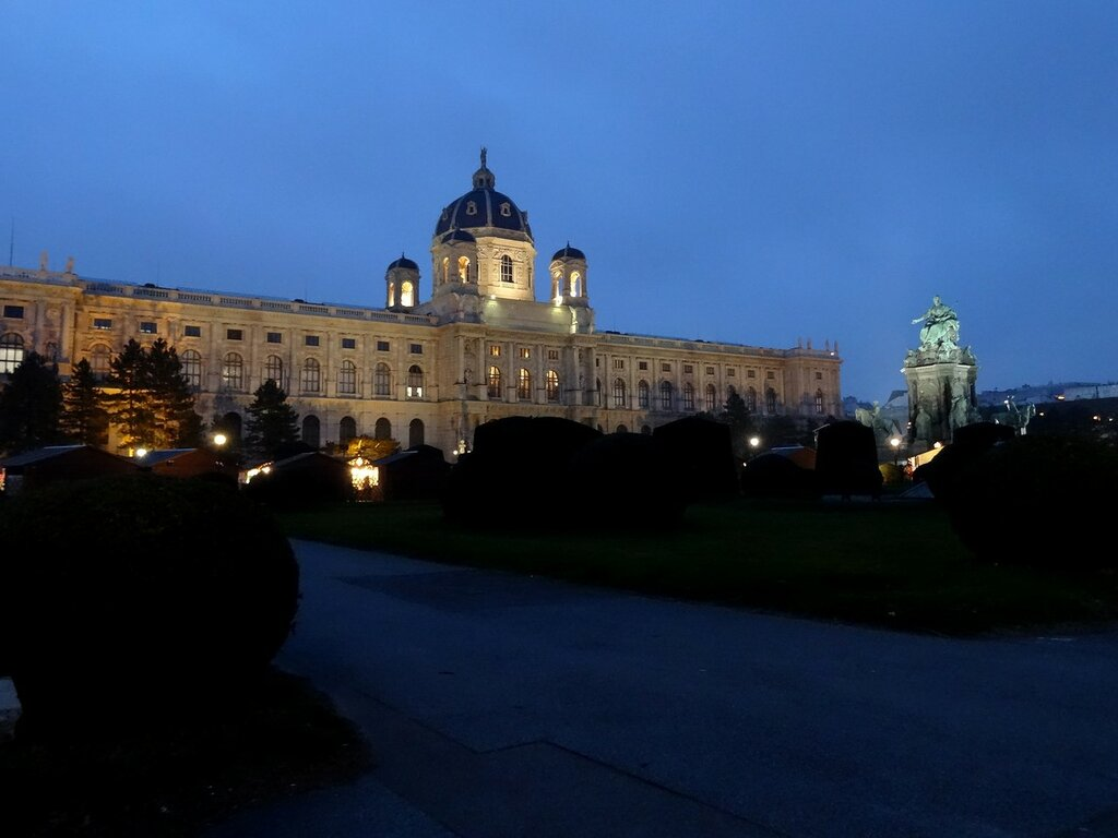 Вена, площадь Марии Терезии