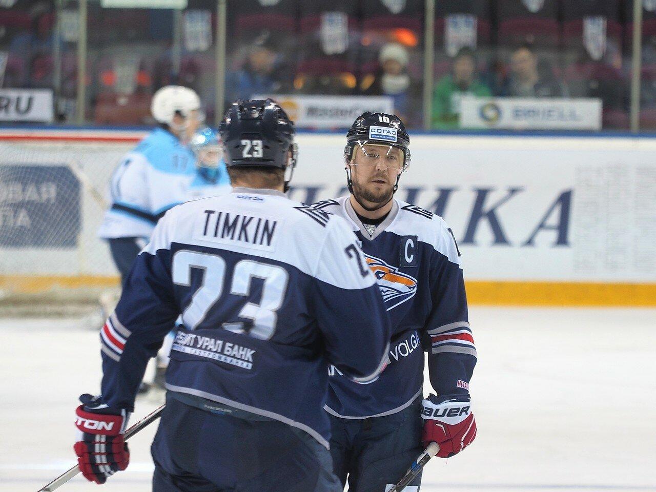 24Плей-офф 2016 Восток 1/2 Металлург - Сибирь 16.03.2016
