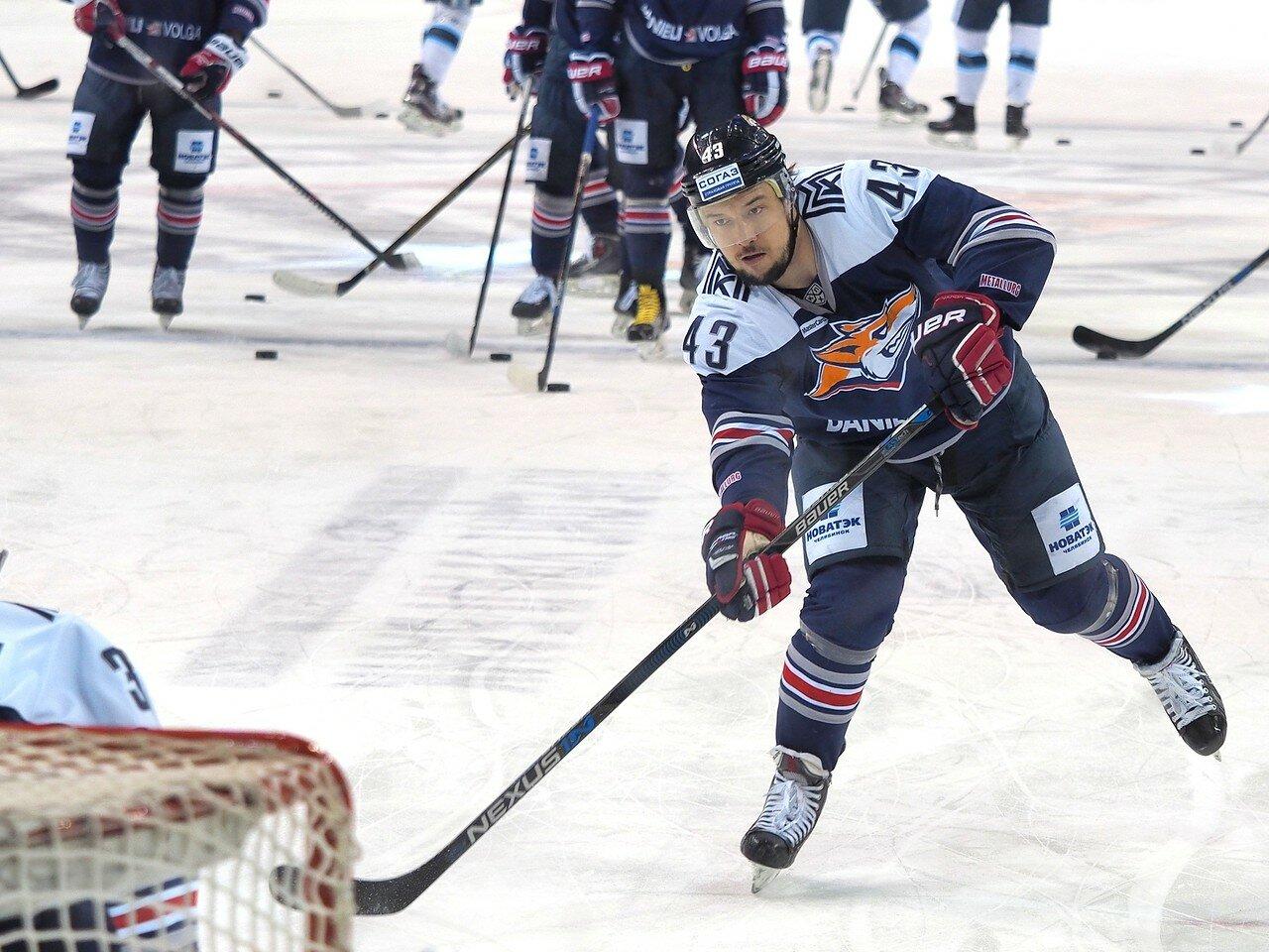 34Плей-офф 2016 Восток 1/2 Металлург - Сибирь 16.03.2016