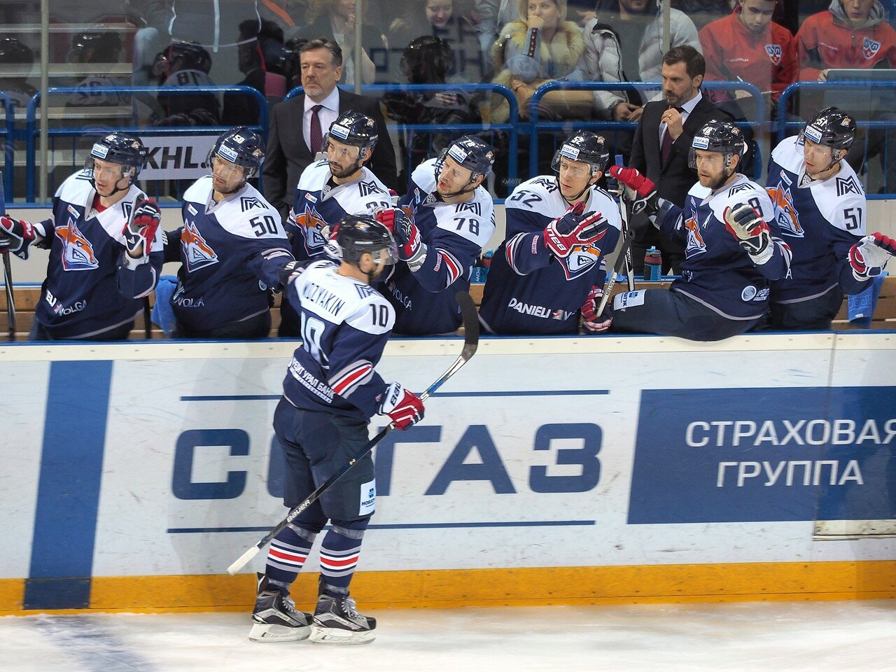 48Плей-офф 2016 Восток 1/2 Металлург - Сибирь 16.03.2016