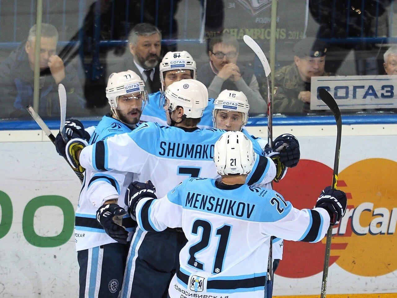 70Плей-офф 2016 Восток 1/2 Металлург - Сибирь 16.03.2016