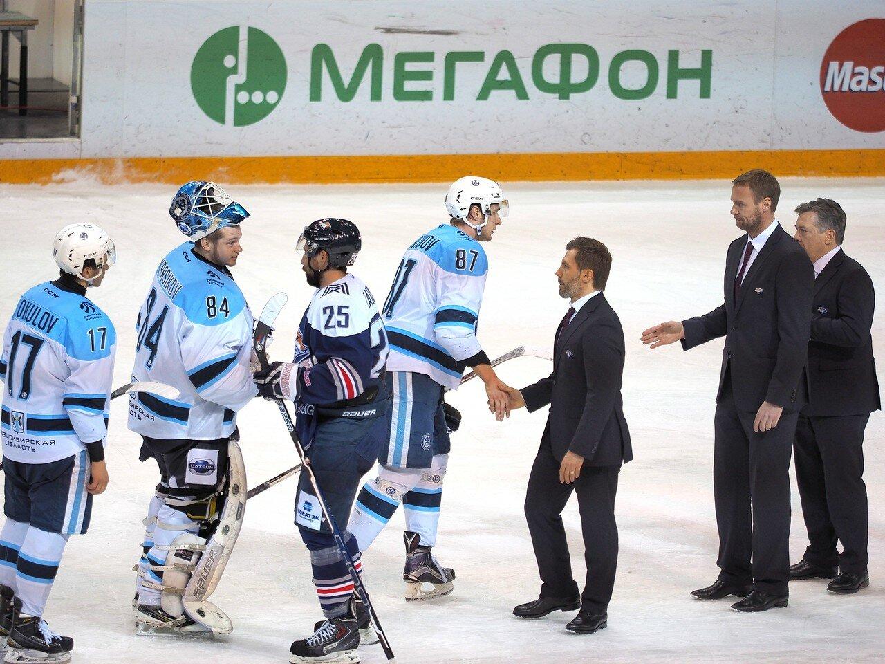 86Плей-офф 2016 Восток 1/2 Металлург - Сибирь 16.03.2016