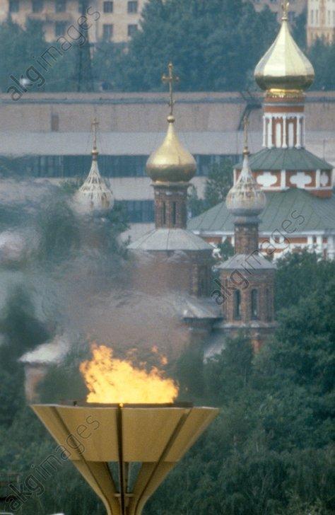Olympics-80 fire