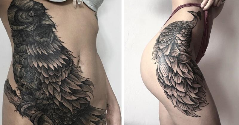 Мрачное очарование татуировок российского художника