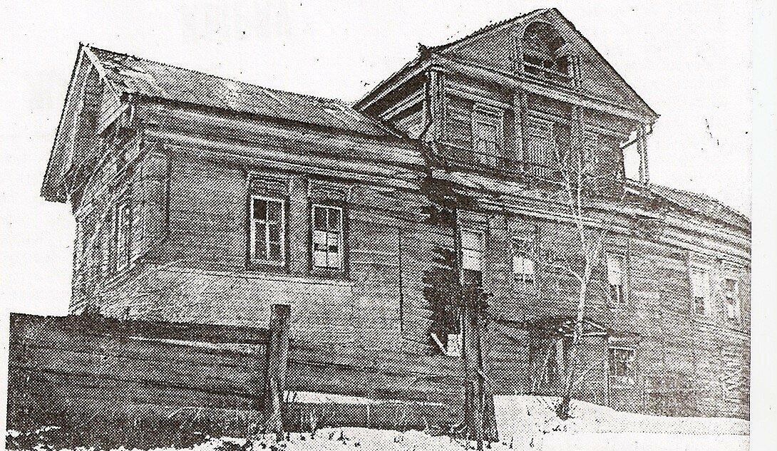 Дом Даутова до реставрации.