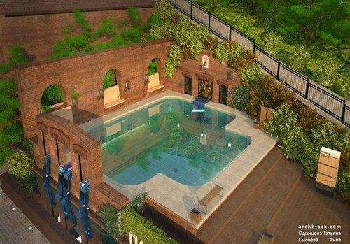 Проект купальни на Парамонах
