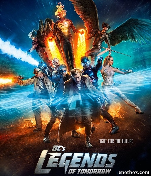 Легенды завтрашнего дня / DC's Legends of Tomorrow - Полный 1 сезон [2016, WEB-DLRip | WEB-DL 720p, 1080p] (LostFilm | NewStudio | ColdFilm)