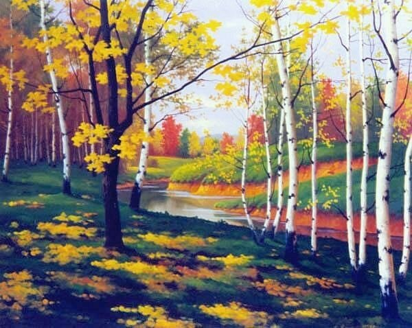 Григорий Аванесов. Осень