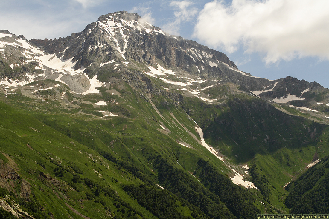 Домбай, Кавказ
