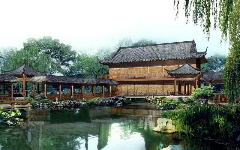 Красивые китайские пейзажи. Фотографии природы Китая, похожей на картины 0 1c4d39 62ee6382 XL