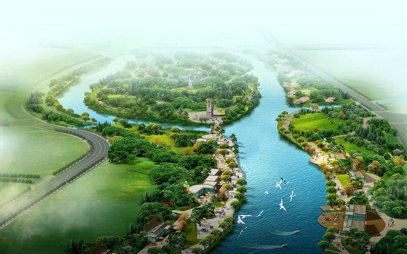 Красивые китайские пейзажи. Фотографии природы Китая, похожей на картины 0 1c4d40 2c143436 XL