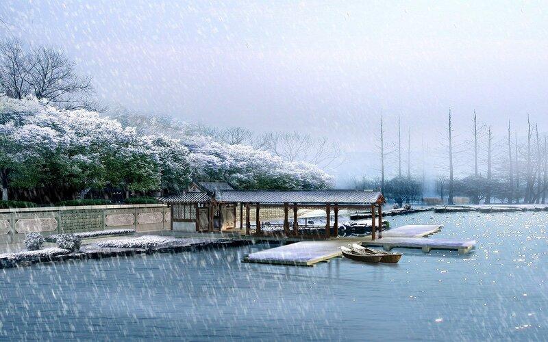 Красивые китайские пейзажи. Фотографии природы Китая, похожей на картины 0 1c4d43 f284d710 XL