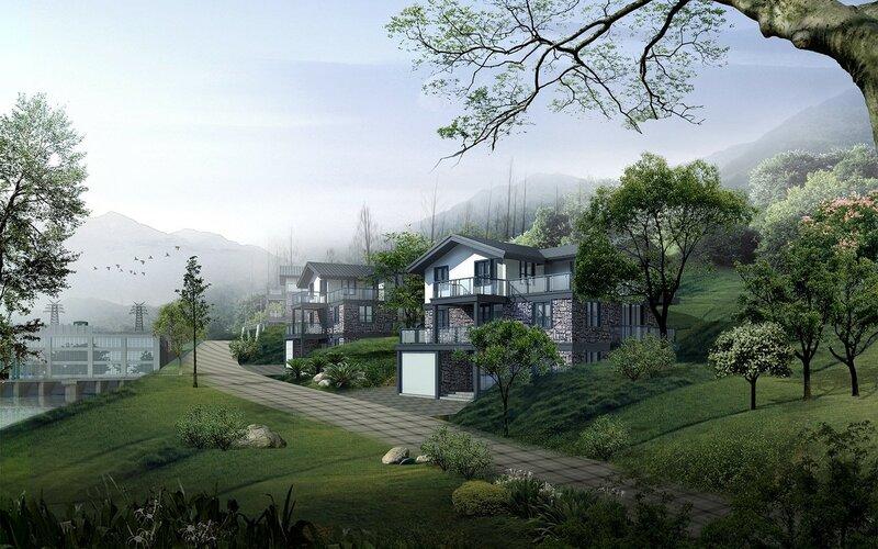 Красивые китайские пейзажи. Фотографии природы Китая, похожей на картины 0 1c4d45 5e024233 XL