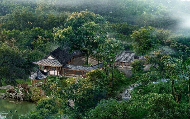 Красивые китайские пейзажи. Фотографии природы Китая, похожей на картины 0 1c4d54 8c4a535 XL