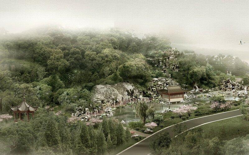 Красивые китайские пейзажи. Фотографии природы Китая, похожей на картины 0 1c4d58 eceb2507 XL