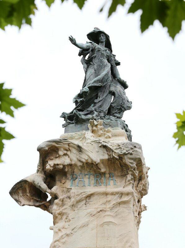 Los Sitios monument, Zaragoza