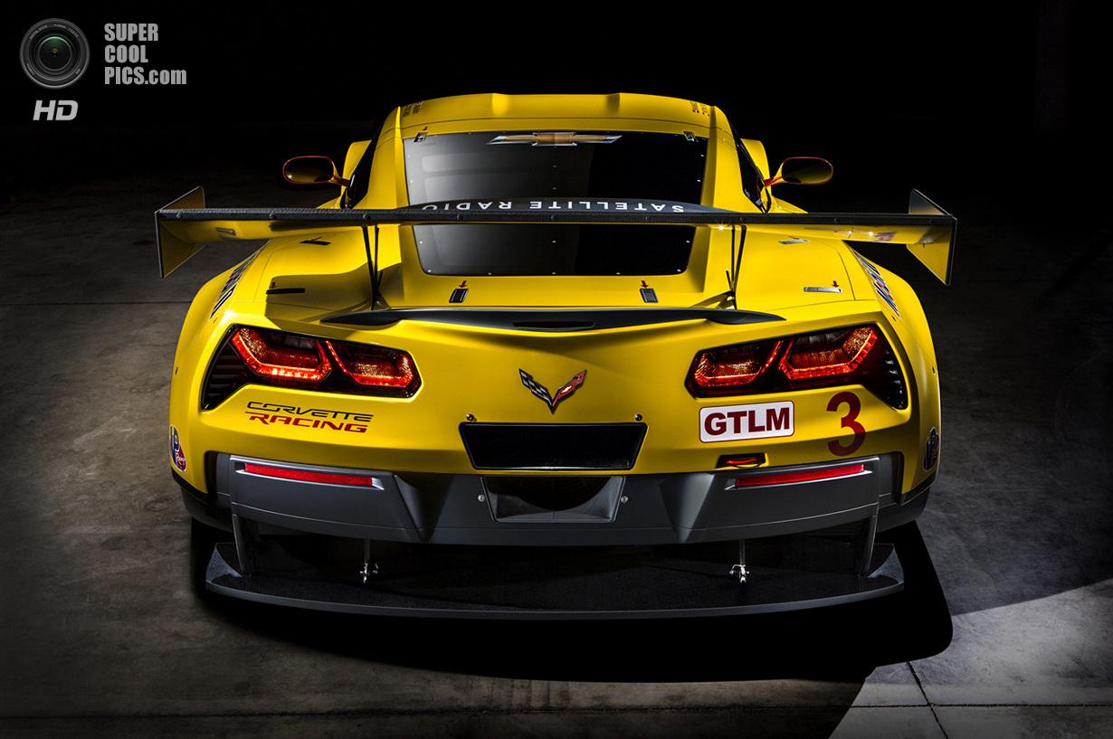 Chevrolet показала гоночный Corvette C7.R