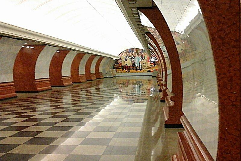 парк победы станция метро