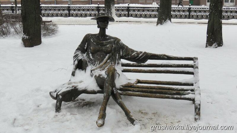 Михайловский сквер,Минск,памятники