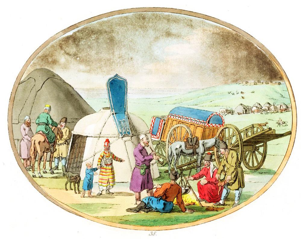 35. Кундровские татары  / Kundurofskische Tataren