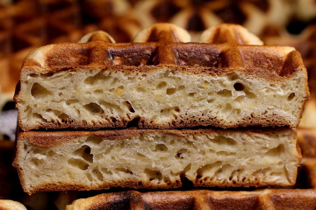 Бельгийские вафли «Яблочные»