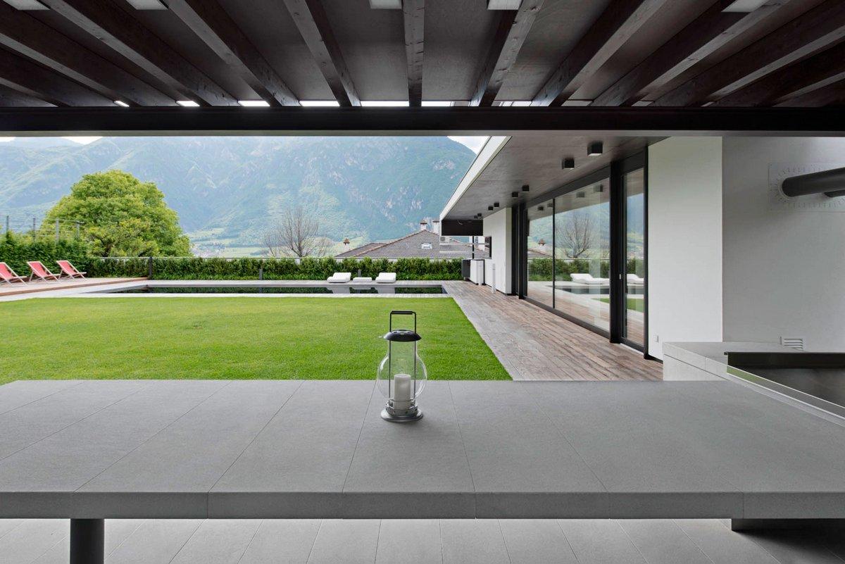 Pallaoro Balzan e Associati, Casa FFF, частный дом с видом на горы, дом с видом на горы фото, частный дом в Италии, дома в Тренто