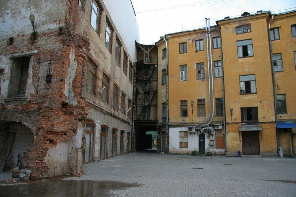 Двор бывшей Компании для хранения и залога громоздких движимостей (ломбарда), Санкт-Петербург