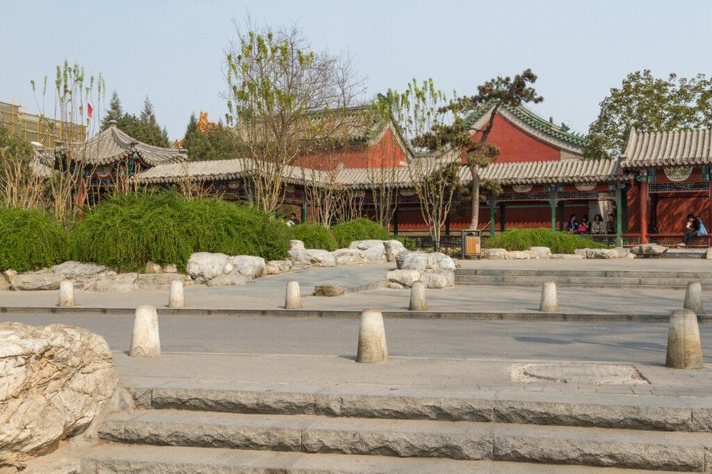 Храм божества Огня, Шичахай, Пекин