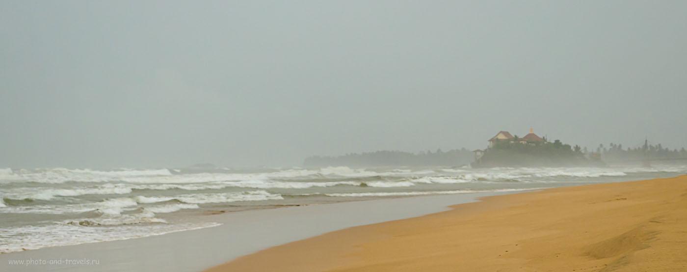Фотография 16. Во время нашего отпуска на Шри-Ланке в мае в западной части острова были дожди и огромные волны в Индийском океане. На Востоке (на пляже Нилавели (Nilaveli Beach)) было очень спокойно и солнечно. Отзывы туристов о поездке дикарем на арендованном автомобиле.