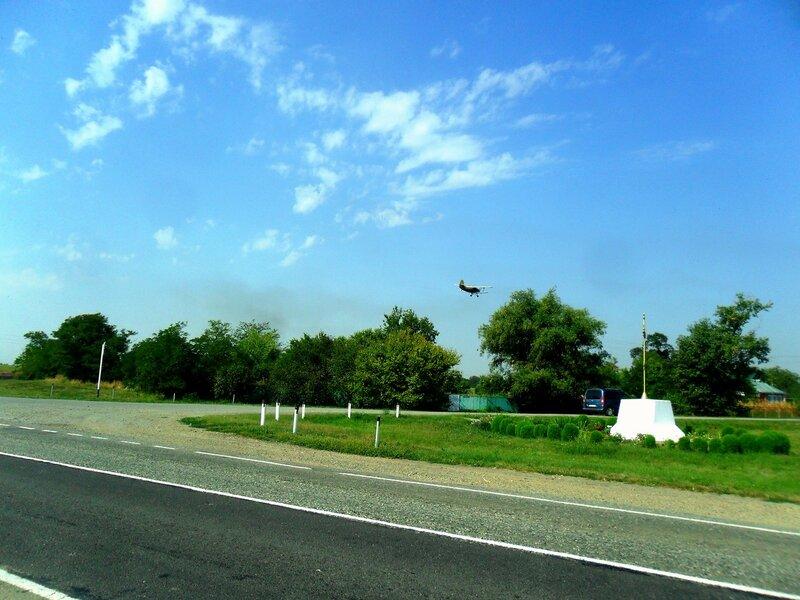 На повороте, созерцание полёта ... SAM_3519.JPG
