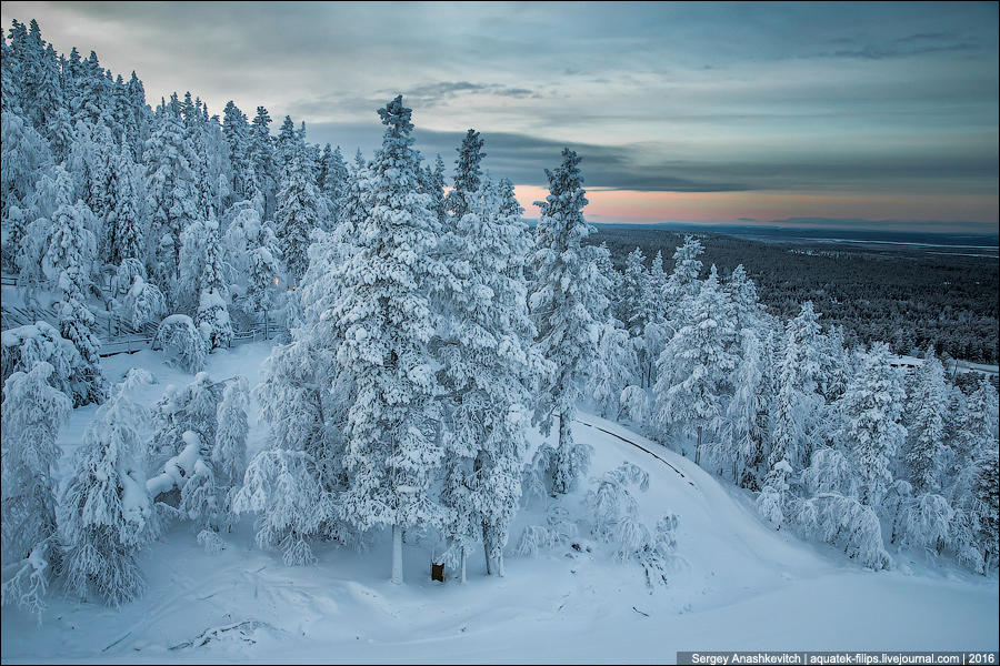 Winter in Lapland / Зима в Лапландии