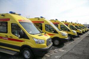 В больницы Приморья передано восемь реанимобилей для рожениц и новорожденных