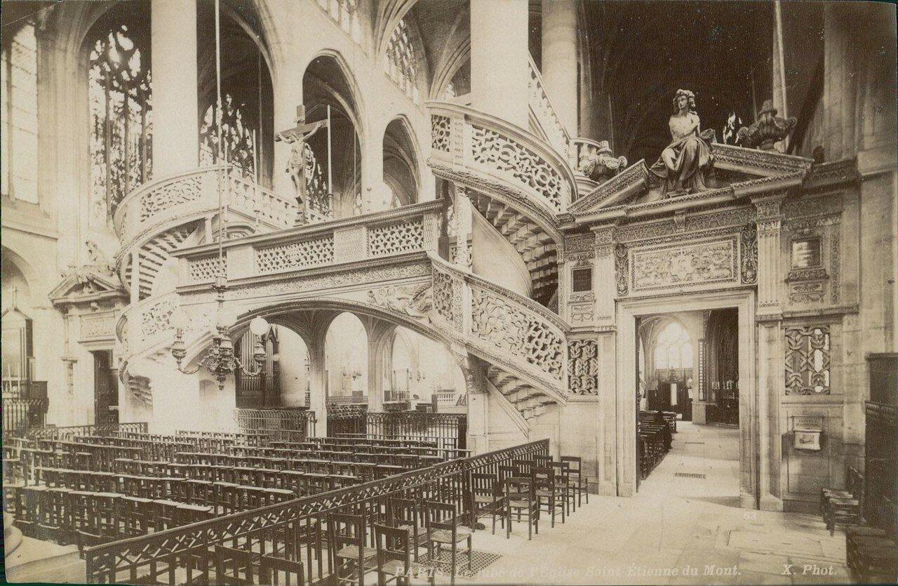 Амвон Церковь Сент-Этьен-дю-Мон