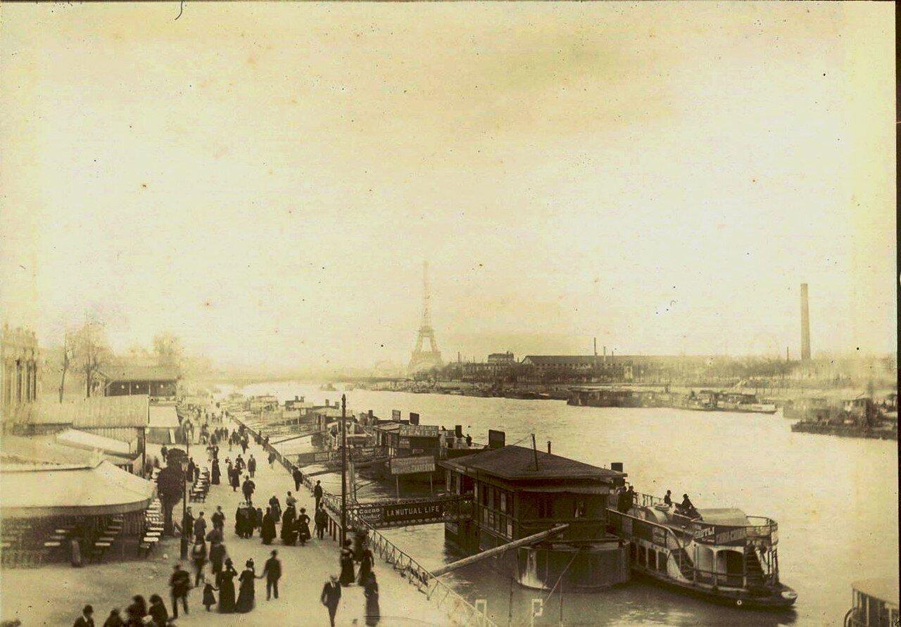 1900-е. Набережная Сены
