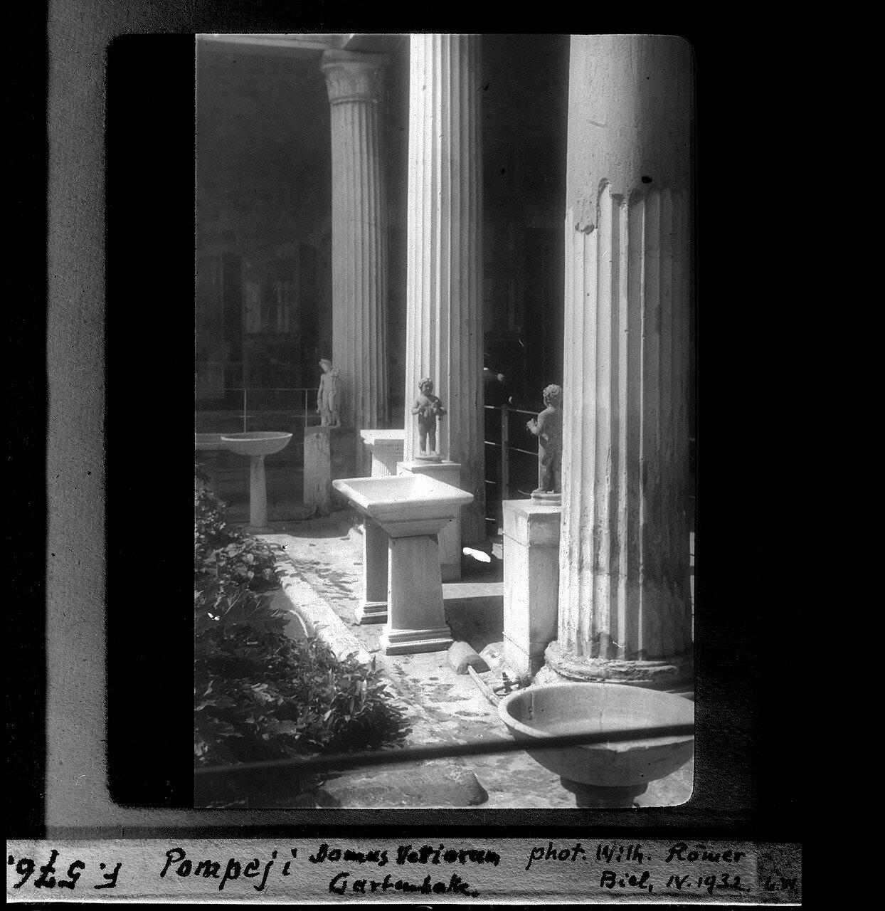 1932. Дом Веттиев. Перистиль