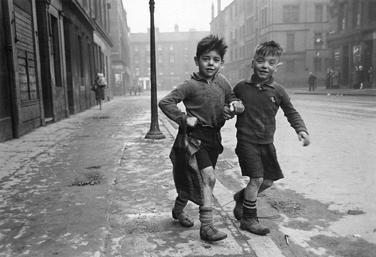 1948. Дети из Горбалса, Глазго