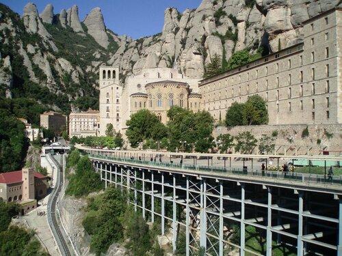 Испания. Монастырь Монсеррат